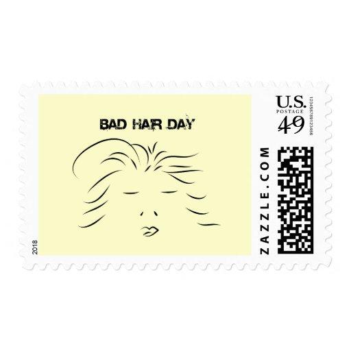 Mún día del pelo sellos