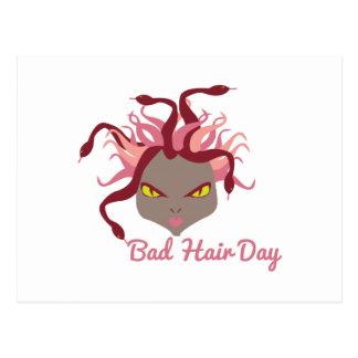 Mún día del pelo tarjeta postal