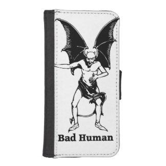 Mún diablo que imita humano billetera para iPhone 5
