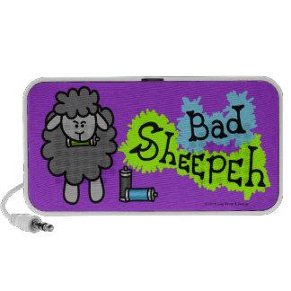 Mún Doodle de Sheepeh Spraypaint iPod Altavoces