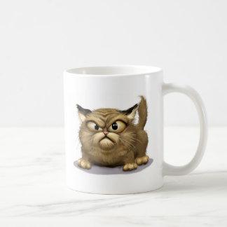 Mún gato taza básica blanca