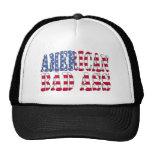 Mún gorra americano de la bandera