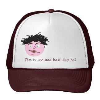 Mún gorra del día del pelo - hombres