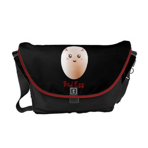 Mún huevo divertido bolsas messenger