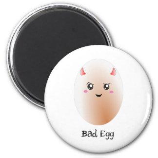 Mún huevo lindo imán de nevera