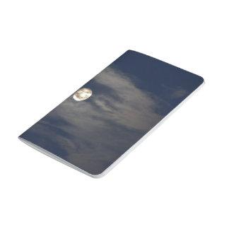 Mún levantamiento de la luna cuadernos