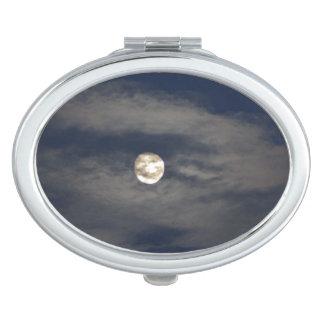 Mún levantamiento de la luna espejos maquillaje