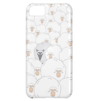 Mún lobo grande funda para iPhone 5C