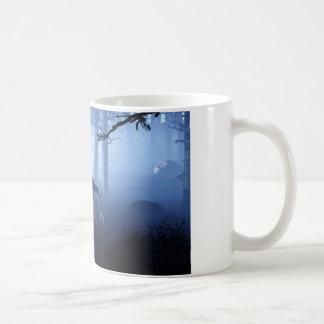 Mún lobo grande taza