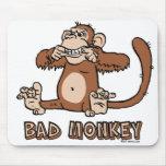 Mún mousepad del mono tapete de ratón