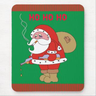 Mún navidad divertido Mousepad, Navidad Mousepads