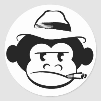 Mún pegatina del mono
