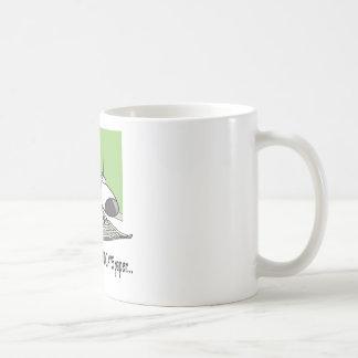 Mún periódico del perrito tazas de café
