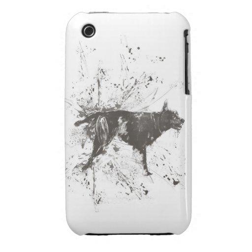Mún perro Case-Mate iPhone 3 fundas