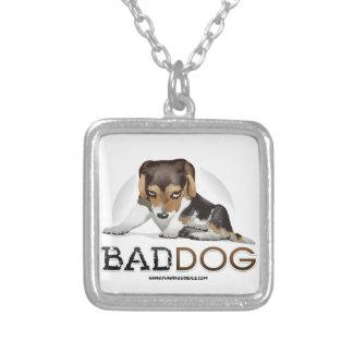 Mún perro, colgante divertido del collar del perro