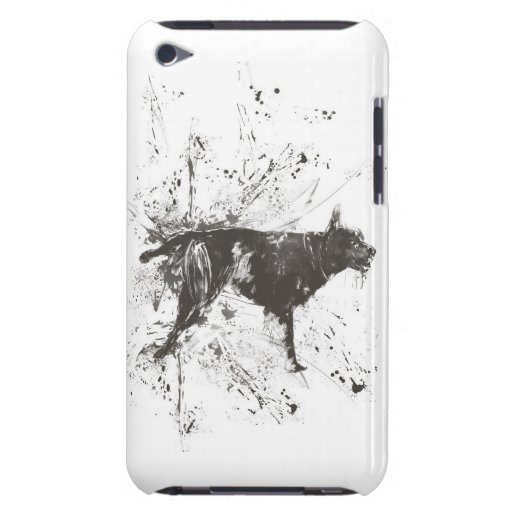 Mún perro iPod Case-Mate protectores
