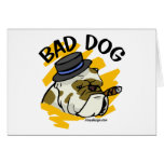 Mún perro tarjetas