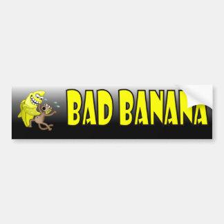 mún plátano pegatina para auto