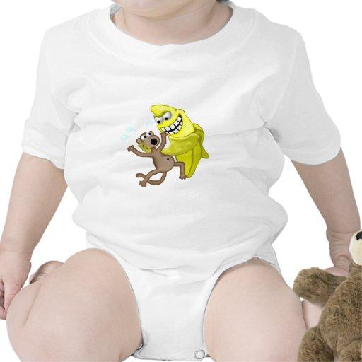 mún plátano trajes de bebé