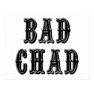 Mún República eo Tchad Tarjeta Postal
