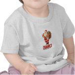 Mún Santa Rob su casa Camisetas