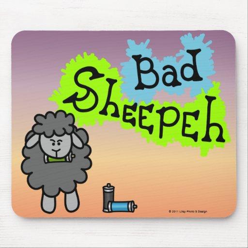 Mún Sheepeh Spraypaint Mousepad Tapete De Ratones