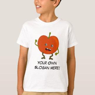 Mún tomate con lema adaptable playera
