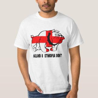 Mún valor del inglés del chiste camisas
