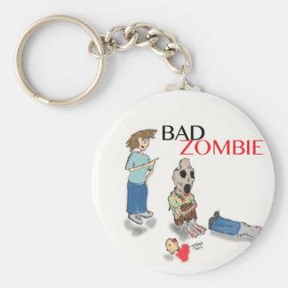 Mún zombi llavero redondo tipo pin