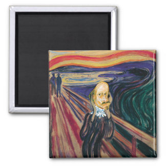 Munch Ado About Shakespeare (magnet)