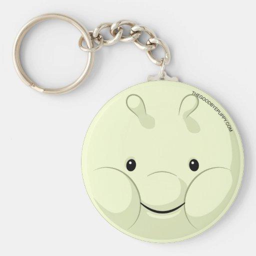 Munch Face Keychain