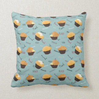 Munch My Muffin Accent Pillow