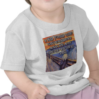 Munch s The Scream Government Help T Shirt