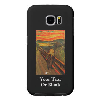 Munch - The Ice Scream Samsung Galaxy S6 Cases