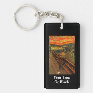 Munch - The Ice Scream Rectangle Acrylic Keychain