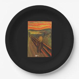 Munch - The Ice Scream Paper Plate