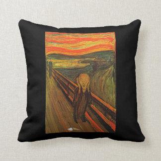 Munch - The Ice Scream Throw Pillow