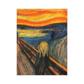 Munch The Scream Canvas Print