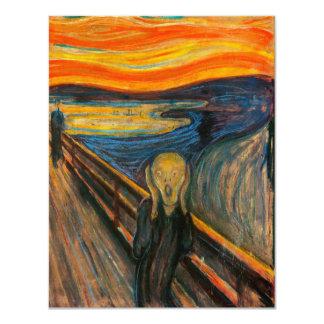 Munch The Scream Invitations