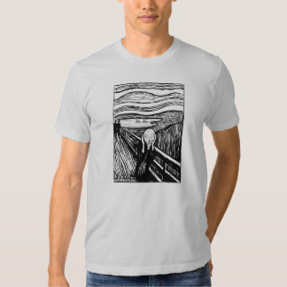 Munch The Scream Lithography T-shirt