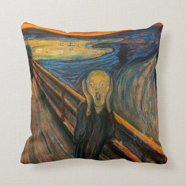 Munch The Scream Pillow