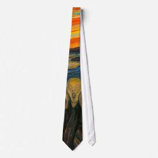 Munch The Scream Tie