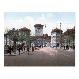 München Isartor Postcard