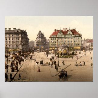 München Karlsplatz (Stachus) Poster