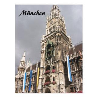 münchen la catedral tarjeta postal
