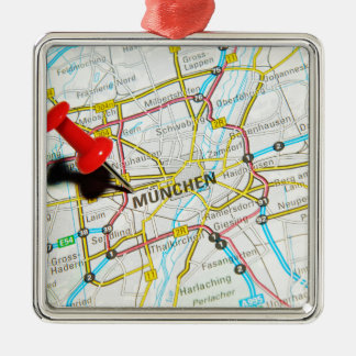 Munchen (Munich), Germany Metal Ornament