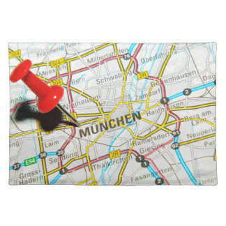 Munchen (Munich), Germany Placemat