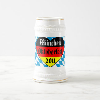 München Oktoberfest 2011 Germany Bierkrug Beer Stein
