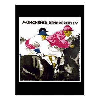 Munchener Rennverein E.V Tarjetas Postales