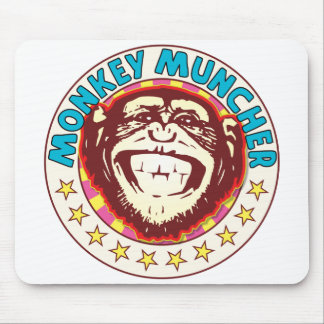 Muncher Monkey Mouse Pad